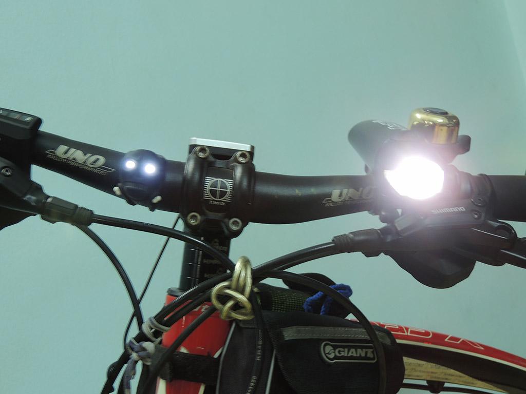 Đèn chiếu sáng phía trước xe đạp